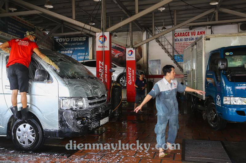 kinh doanh cafe rửa xe