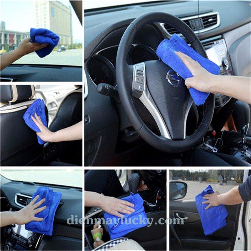 vệ sinh nội thất xe ô tô